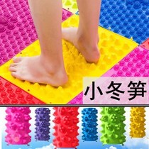 Acupressure plate foot foot massage pad foot foot squeeze plate home toe plate over the foot addiction acupuncture point toe board