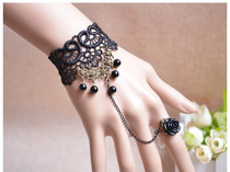 Lace bracelet retro wristband small jewelry sexy lingerie accessories gothic fashion Europe and the United States hot ak13
