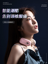 The new cervical massager unblocks the neck physiotherapy smart shoulder-neck massager hot-fit neck small office.