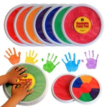 Painting paint painting set kindergarten watercolor pupils a set of combination plate mounted hand printing plate finger painting ink