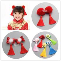 Stream Sooners fairy Flower hairpin Han suit headwear child girl girls little girl Princess Head Flower festival Jewelry