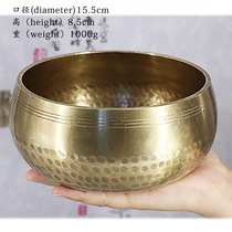 Cross-border Nepali Buddhist sound yoga meditation bowl sound therapy praise pure copper Buddha sound bowl copper.