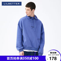 Lilbetters mens tide jacket hip-hop sportswear loose autumn mens hoodless guard tide