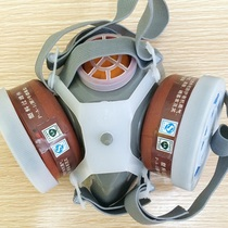 Anti-virus mask self-Priming Filter Type gas mask half mask(double tank)