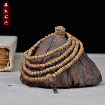 Small and beautiful Vietnamese inverted incense Buddha bead bracelet 4mm216 incense string wooden bracelet lady sweet fragrance.