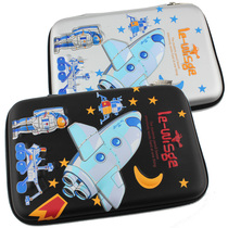 Korean version of children pen bag primary school students high-capacity pencil case boy stationery bag multi-functional creative stationery box pen bag