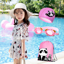 Parent-enfant bain robe fille princesse mignonne jupe bébé cartoon girl fille maillot de bain grand garçon
