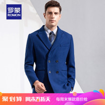 (Spike)Roman Roman middle-aged suit casual woolen coat wool coat warm woolen jacket