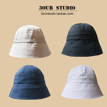 Sun-proof sun-kissed fisherman hat female small crowd bell-shaped japanese basin hat summer Korean version of the tide ins and buckets to set up a sun hat