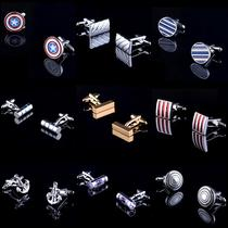 (Gift box) high quality French cufflinks cuff nail mens cuff nail lining men and women shirt buckle cuff buckle tide