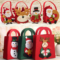 Ben deer nonwoven Christmas Eve gift bag cute tote bag Christmas gift bag gift bag.