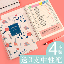 Lazy BookBook account ledger household financial notebook childrens students Korean cute multi-purpose cash Journal financial expenditure income form Household Personal childrens books
