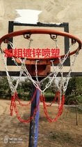 Metal basketball net bold welded basketball net electroplating basketball net basketball net