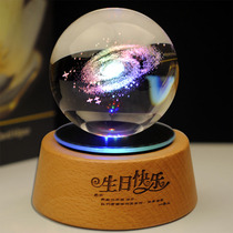 Crystal Ball Spins Eight Music Box 520 Valentines Day Christmas Gift sending girlfriend a memorable gift