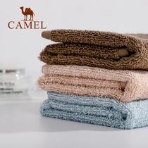 Camel Camel home towel cotton cotton wash adult thickening soft absorbent cotton square towel