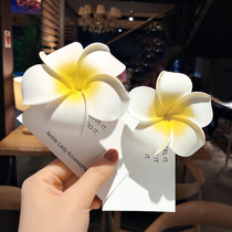 Flower hairpin cute word clip Japan and South Korea temperament sweet girl heart headdress simple wild clip bangs folder