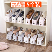Double slippers storage rack dormitory storage artifact cabinet shelf bedroom finishing shoes shoe cabinet storage shoe rack