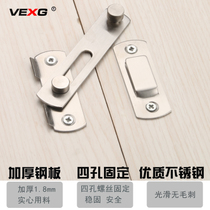 VEXG stainless steel door buckle sliding door latch bolt door lock buckle multi-purpose bolt bolt door buckle