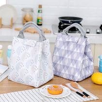 Korean small fresh lunch bag Magic Stick lunch box bag lunch bag outdoor picnic insulation bag lunch box bag