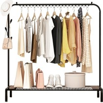 Bedroom creative floor clothes hanger coat rack storage rack room clothes hanger home clothes