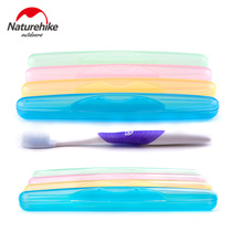 NH Outdoor sanitary Toothbrush Barrel Travel portable wash Toothbrush box toothbrush kit business Travel Supplies