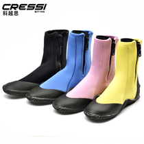 Italy CRESSI ISLA diving boots diving shoes 3MM 5MM 7MM multi-color optional