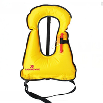 Summer wave wind inflatable adult life jacket snorkeling fishing vest swimming portable pocket life jacket buoyancy