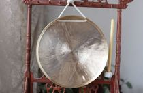 Xuan Crane musical instrument gongs and drums Gong gong big gong diameter 27 cm Martial gong to send Gong hammer