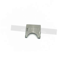 SD 2-in-1 Self-Loading SD card slot pop-up SD card slot SD card holder all Copper (10)