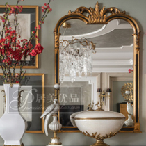 Dressing mirror European French American entrance mirror decorative mirror wall mirror bathroom mirror bathroom mirror living room mirror