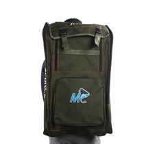 Good fishing tackle bag shoulder bag fishing rod bag three waterproof fishing rod fishing chair backpack