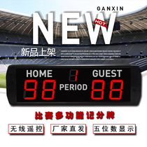 Jiangxi Xin Competition with electronic scoreboard led digital basketball badminton table Tennis Scoreboard wireless remote control