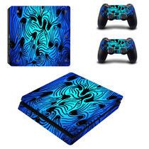 Sony PS4 SLIM sticker corps autocollants ps4 new slim douleur autocollants film la couleur des autocollants pour envoyer poignée autocollants 27