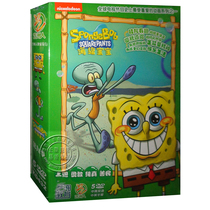Genuine SpongeBob SquarePants dvd Season 9 5DVD HD animation CD bilingual dual subtitles