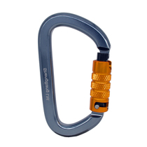 Golmud climbing automatic main lock safety hook fast-hanging large D-type main lock outdoor equipment safety lock CB960