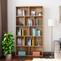 Simple modern bookcase large capacity living room free combination cabinet with door bookcase shelf student simple bookshelf