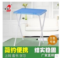 Outdoor folding light table plastic portable stall table writing table fashion easy learning computer table.