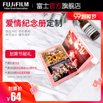 Fuji photo book custom couple Student love memorial book wedding ceremony photo collection love memorial album photo studio