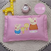 Childrens cotton pillow 3-6 years old kindergarten baby cartoon pillowcase child pillow core desk nap baby pillow