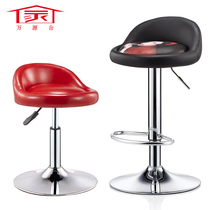 Bar chair swivel chair modern simple bar chair high bar stool back stool high stool front desk chair home