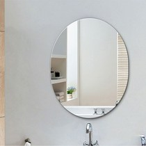 Can be attached to the wall mirror bathroom mirror simple frameless bathroom bathroom mirror European-style bathroom mirror