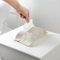Car cloth tissue box Nordic ins pumping paper box home living room simple cute paper bag creative tissue sets