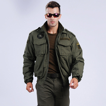 Winter Outdoor 101 Airborne Division American flying Jacket Army fan coat male tactical jacket camouflage World War II jacket
