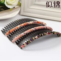 3 pcs bangs hair card comb hair band tooth hair band Hair Hair headdress wide edge hair plug long plug