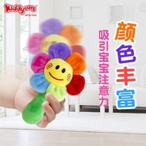 Baby small sand hammer toy 0-6 months newborn baby training hearing early education grasping rattle percussion instrument