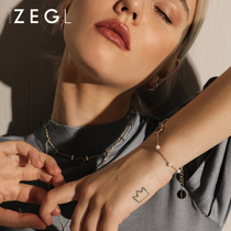 Zegl cold wind bracelet female ins Korean version of simple personality temperament niche design jewelry jewelry