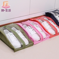 Loaded shoes storage bag portable travel shoes bag storage bag dust and moisture mildew shoes bag loaded shoes artifact