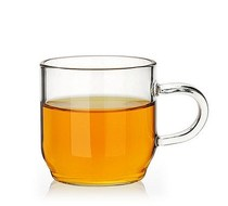 Kung Fu Tea Cup heat-resistant glass tea cup tea cup with a small cup of wine cup double