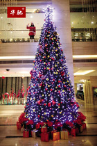 Huachi 3 M large Christmas Tree hotel shopping mall Christmas decorations 300cm decorated Christmas tree package