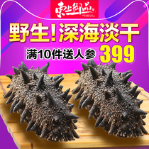Dongshang Royal goods (wild-Good Goods recommended)thorn wild dry sea cucumber dry goods deep sea quality 50g